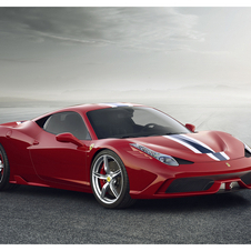Ferrari recently introduced the higher performance 458 Speciale