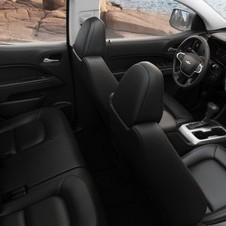 The interior layout is inspired by the Silverado