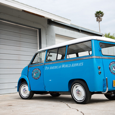 Lloyd LS 600 Kombi Van 'Pan American World Airways Transporter'