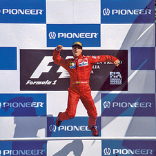 Schumacher scored 72 wins for Ferrari