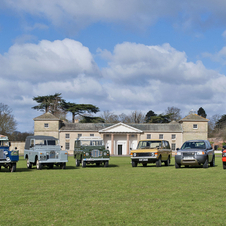 The party celebrates the entire 65 years of Land Rover history