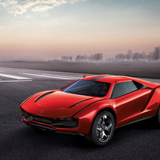 The Parcour is inspired by 70s Lamborghini GTs