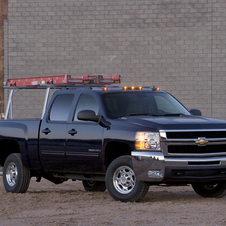 Chevrolet Silverado 2500HD Crew Cab 4WD LTZ Long Box