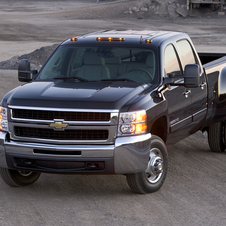 Chevrolet Silverado 3500HD Crew Cab 4WD LTZ Long Box SRW