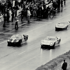 In which year was this image taken at Le Mans?