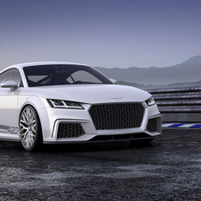 TT quattro sport mostra as capacidades de performance do novo TT