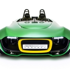 Caterham is going to make the front end less flat for the production car