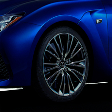 Lexus has released the first teaser of its next F model