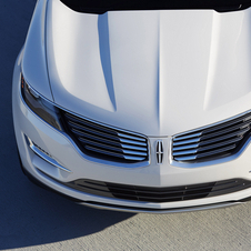 Exterior detail from the Lincoln MKC