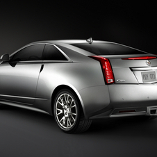 The CTS Coupe has sharp, angular lines that gives it an almost Lamborghini look