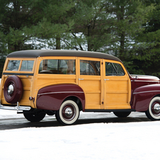 Ford Super De Luxe Station Wagon