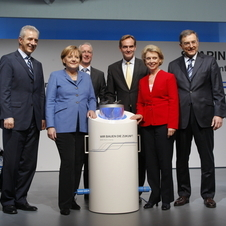 Merkel's party received €690,000 in donations from three members of the Quandt family