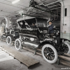 By the 20s, it had a 50% market of the global auto market