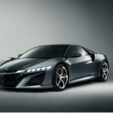 The NSX II concept is the latest version of the car