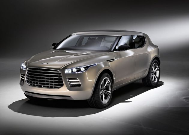 Aston Martin Showed the Lagonda Concept at the Geneva Motor Show in 2009