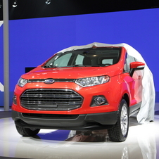 The Ecosport being revealed in China