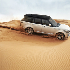 Land Rover says that it has tested the car all over the world