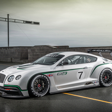The Continental GT3 will begin racing next year