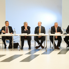 The announcements about the co-developed vehicles came during a press conference at the Brussels Motor Show