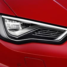 Audi introduced its LED lights in 2004