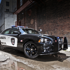 It was the fastest all-wheel drive vehicle the Michigan police have tested