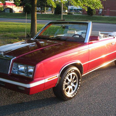 Chrysler Le Baron Convertible