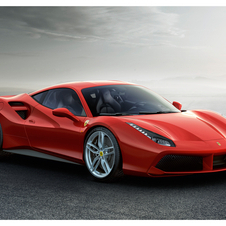 The 488 GTB is an evolution of the 458 Italia, whose production finishes in the summer