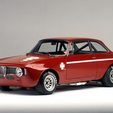 Alfa has six historic cars at Goodwood including this GTA 1300