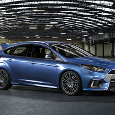 One of the big news of the new Focus RS is the fact that it will be equipped with an all-wheel drive system