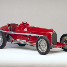 Another classic Alfa there will be the Gran Premio Tipo B 'P3