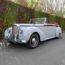 Alvis TA 21 Three Position Drophead Coupe by Tickford