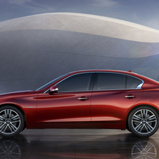 It is the first step to bring the Infiniti brand to Japan