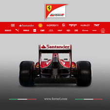 The 2014 rear wing family shares nothing with the previous year