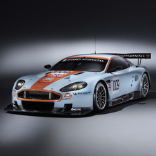 The DBR9 won Le Mans in 2007 and 2008