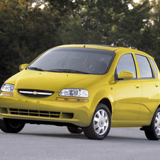Chevrolet Aveo 1.2 L Bi-Fuel Edition