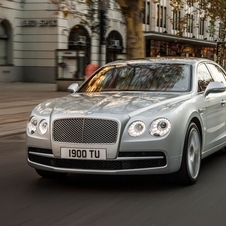 The Continetal Flying Spur is getting a new V8 option