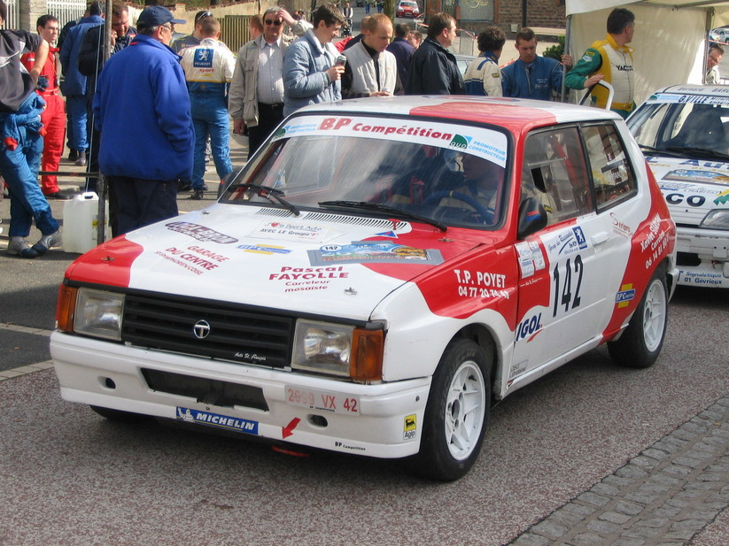 talbot samba rallye    1 photo et 64 sp u00e9cifications