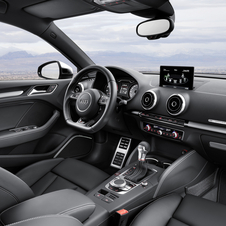 The S3 gets a slightly more sporty interior than the standard car