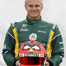 Heikki Kovalainen Will Run Angry Birds Helmet as Part of Sponsorship Deal