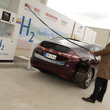 Honda Erects Hydrogen Fueling Station in Swindon, UK