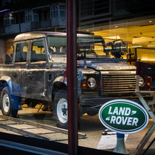Land Rover Defender 110 Double Cabin Pick Up E