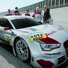 The new A5 DTM during testing
