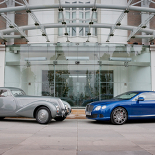 The car is basically the inspiration for the Continental