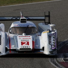 Audi has already secured the manufacturers' championship and drivers' championship