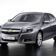 Chevrolet Malibu to Go on Sale in Europe for 2012