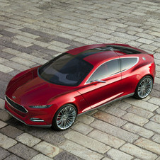 The Evos concept does have the new Ford nose from the Focus and Fusion