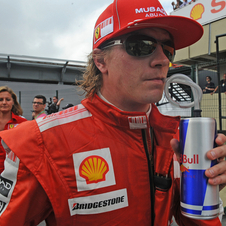 Raikkonen raced at Ferrari from 2007 to 2009