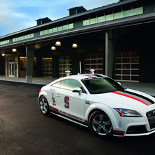 The Audi TTS Pike's Peak is the second autonomous vehicle registered in Nevada