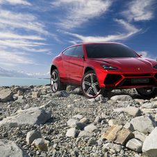 The Urus was first shown at last year's Beijing Motor Show