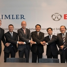 It will be financed by Daimler offering stock in the value of 12% of BAIC